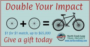 Double Your Impact Graphic